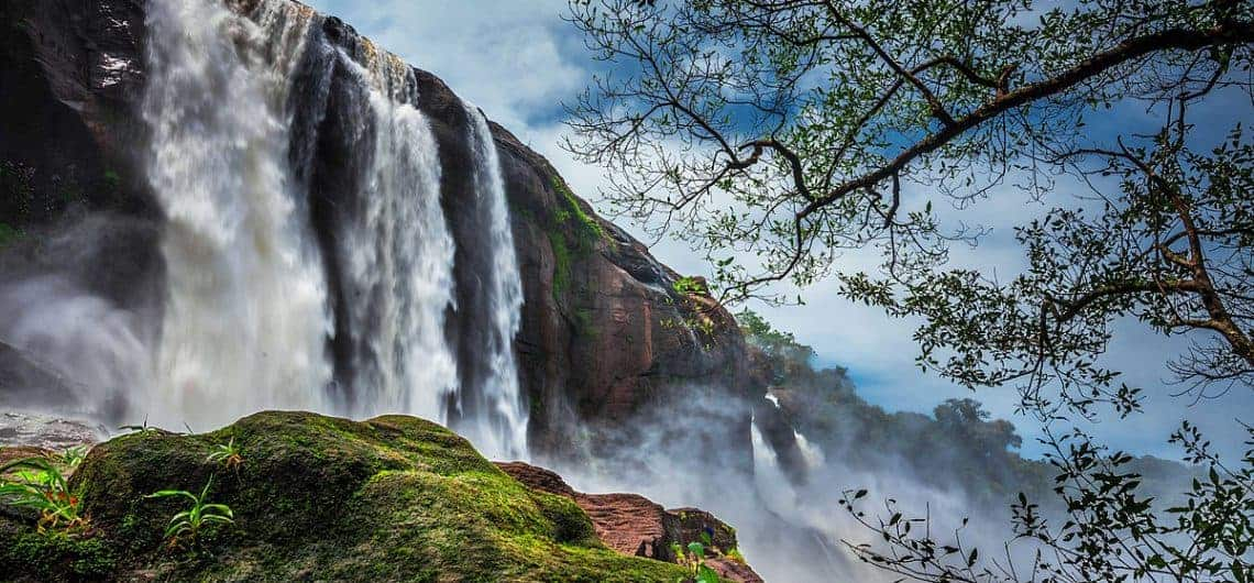 Athirapally-Vazhachal-Waterfalls