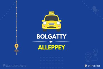 Bolgatty to Alleppey Taxi (Featured Image)