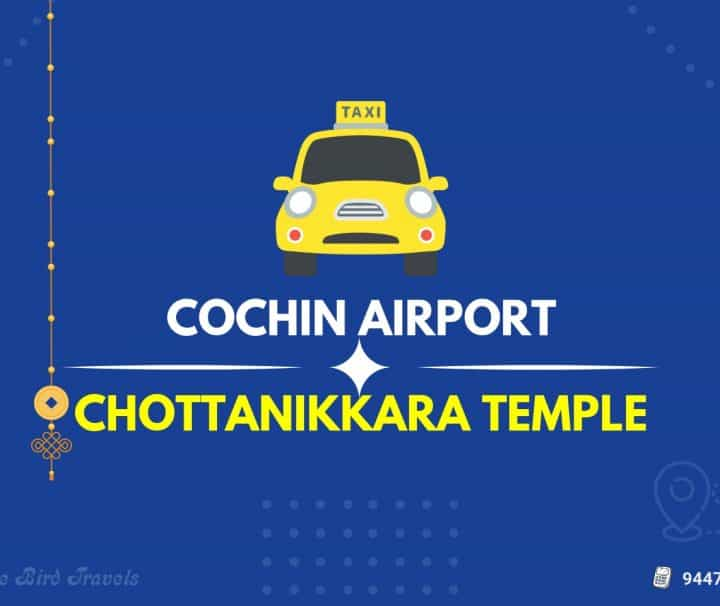 Cochin Airport to Chottanikkara Temple Taxi (Featured Image)