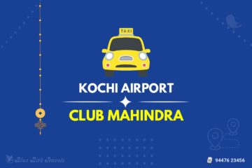 Cochin Airport to Club Mahindra Munnar Taxi(Featured Image)