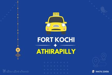 Fort Kochi to Athirapilly Taxi (Featured Image)