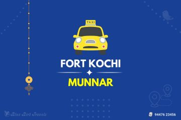 Fort Kochi to Munnar Taxi (Featurd Image)