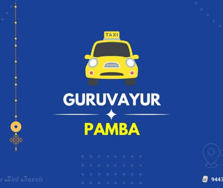 Guruvayur to Pamba Taxi( Featured Image )