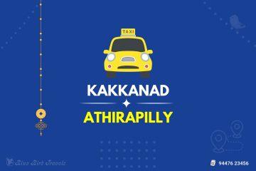 Kakkanad to Athirapilly Taxi (Featured Image)