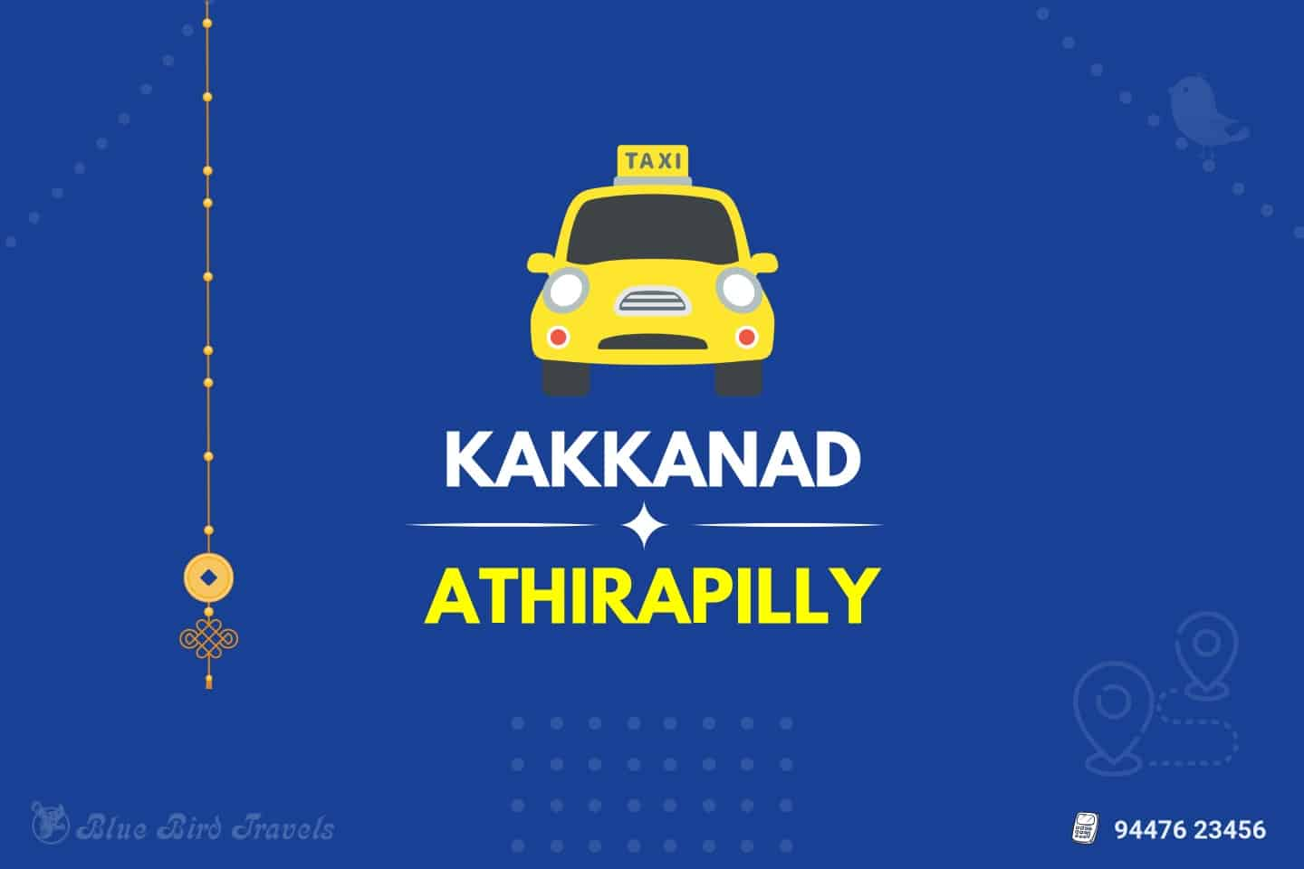 Kakkanad to Athirapilly Taxi (Featured Image)