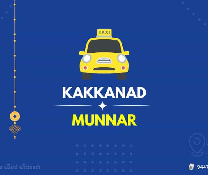 Kakkanad to Munnar Taxi (Featured Image)