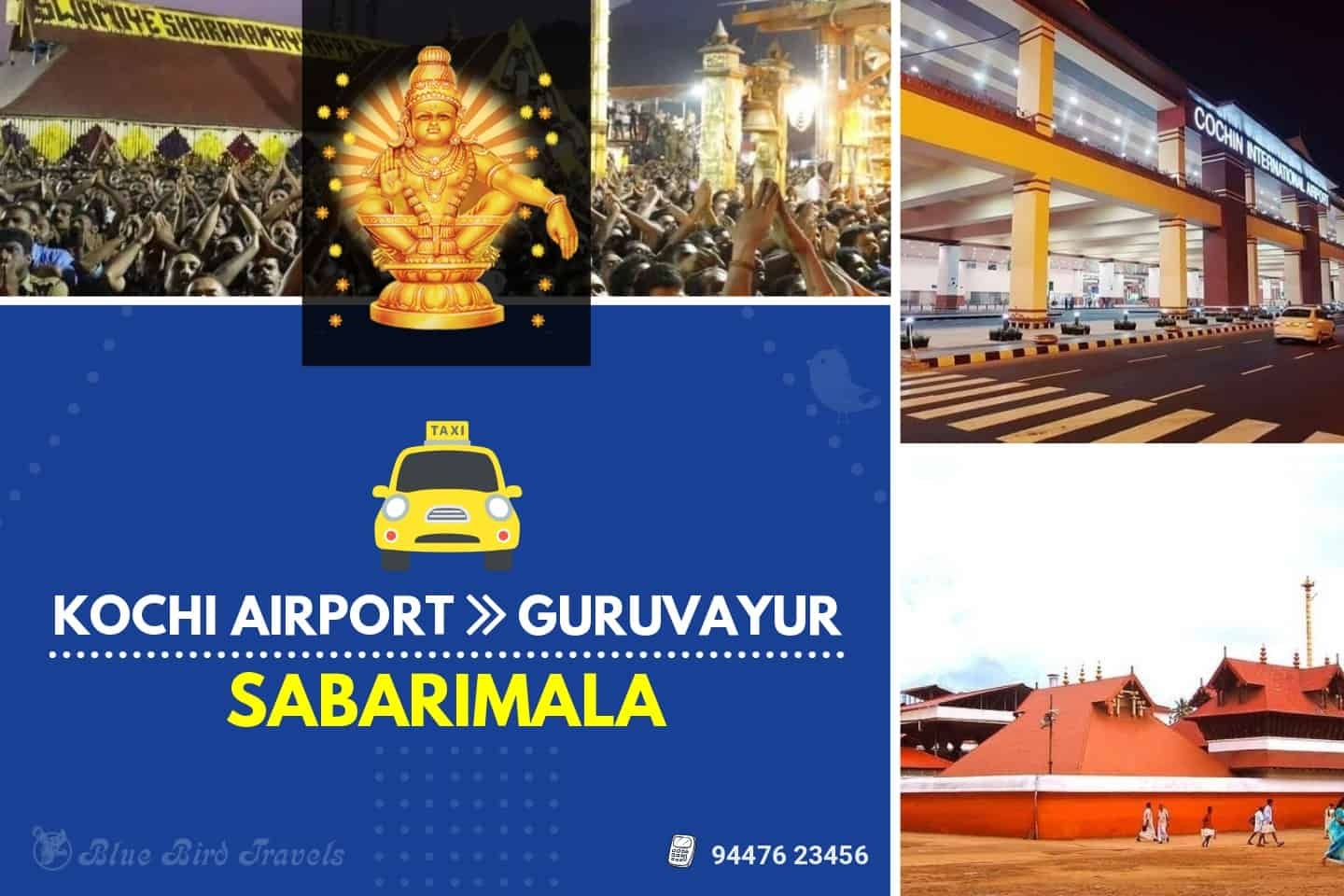 Kochi Airport – Guruvayur – Sabarimala (2 days) ( Featured image)