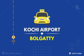 Kochi Airport to Bolgatty Taxi 1