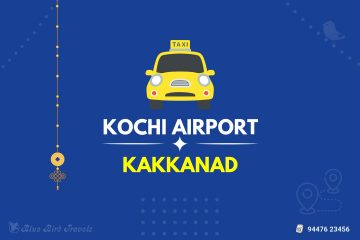 Kochi Airport to Kakkanad Taxi Featured Image