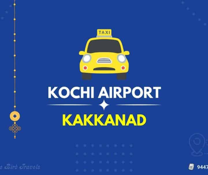 Kochi Airport to Kakkanad Taxi Featured Image