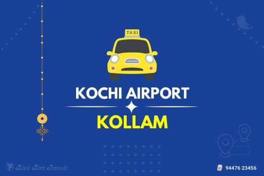 Kochi Airport to Kollam Taxi(Featured image)