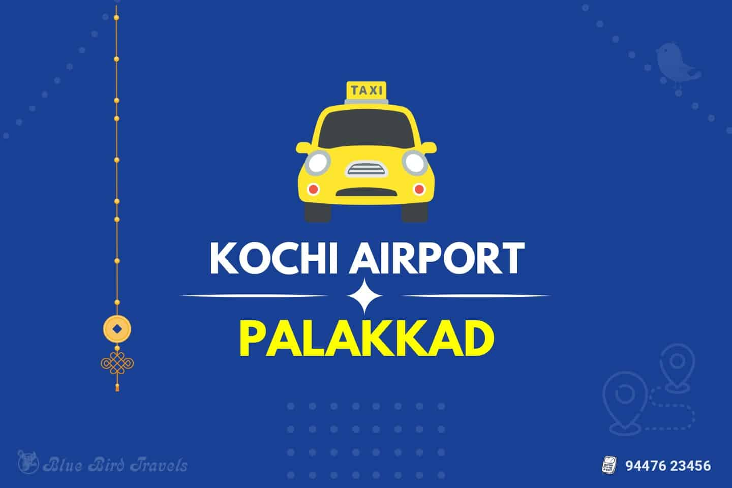 Kochi Airport to Palakkad Taxi (featured Image )