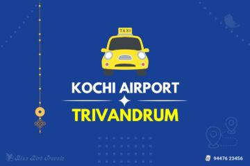 Kochi Airport to Trivandrum Taxi(Featured Image)