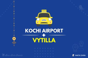 Kochi Airport to Vytilla Taxi (Featured Image)