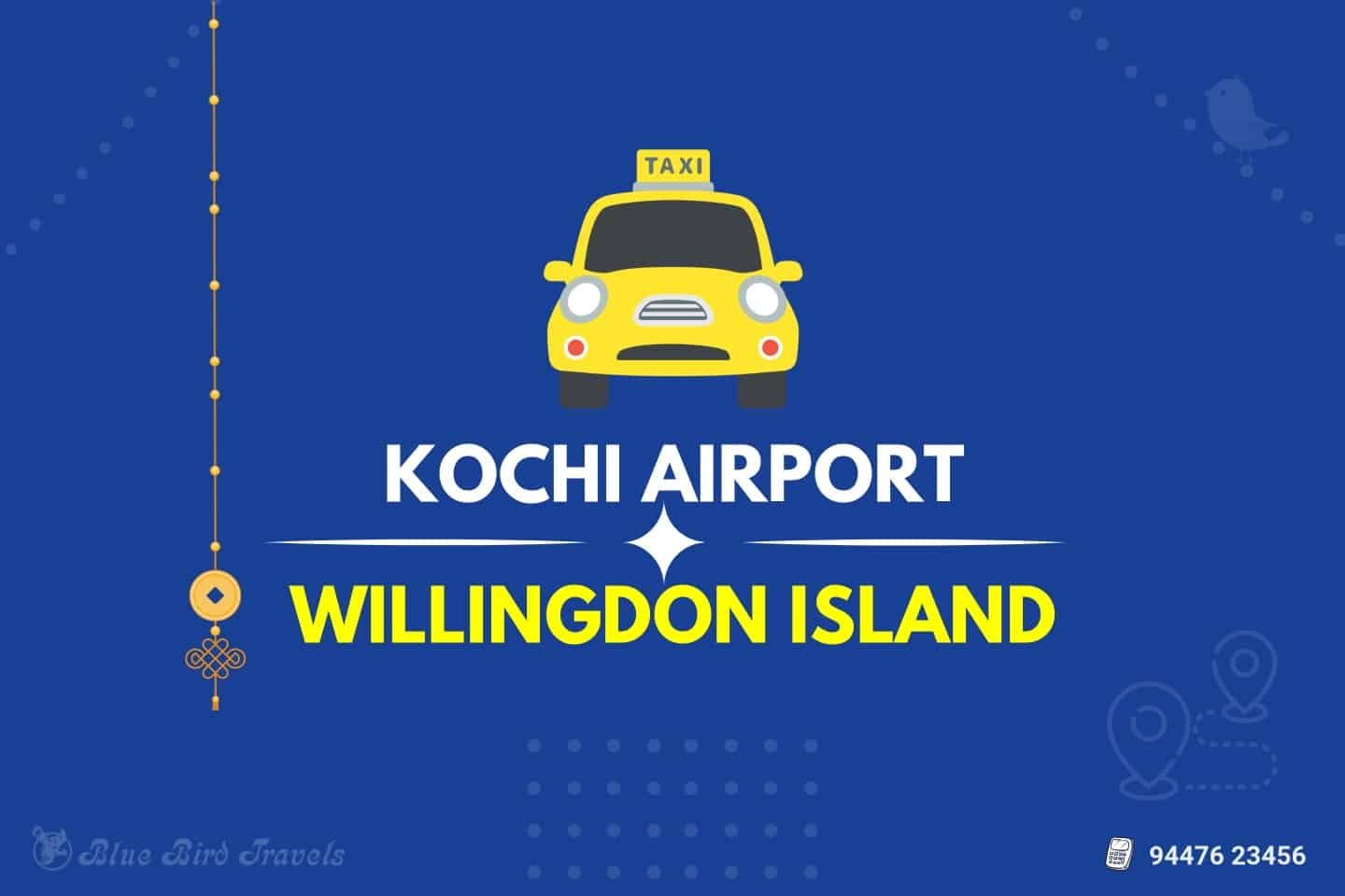 Kochi Airport to Willingdon Island Taxi (Featured Image)
