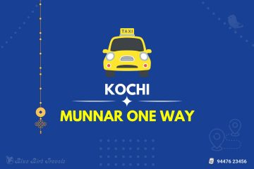 Kochi to Munnar One Way Taxi(Featured Image)