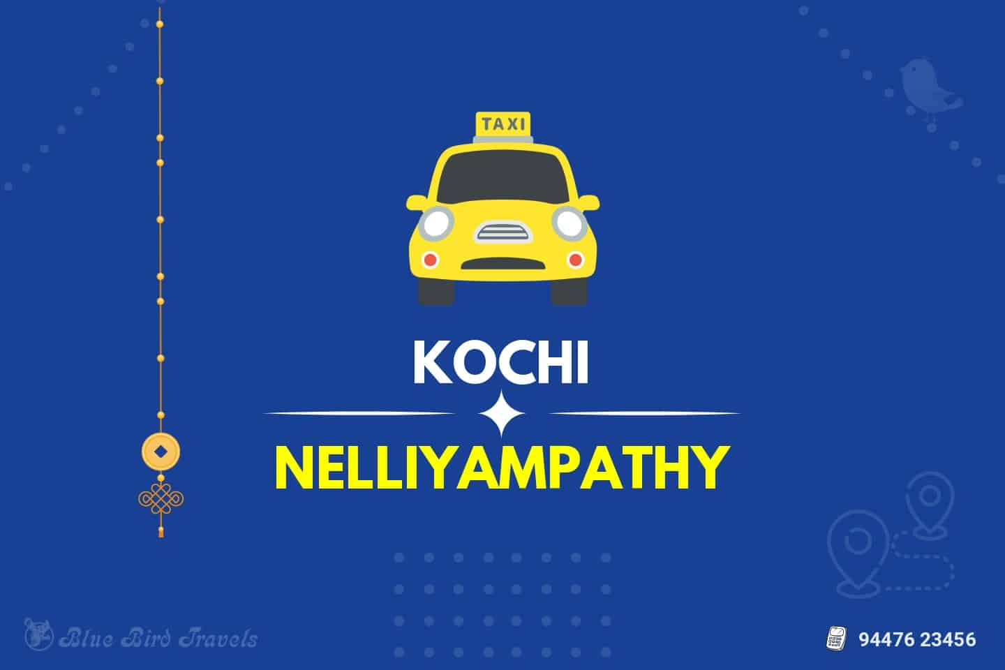 Kochi to Nelliyampathy Taxi(Featured image)