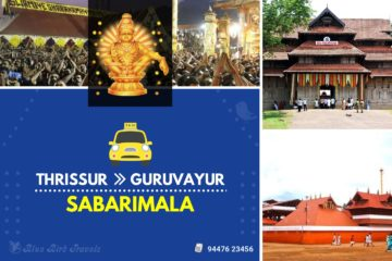Thrissur - Guruvayur - Sabarimala Taxi( Featured image)