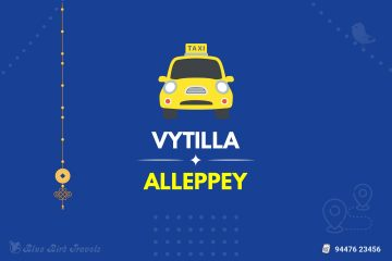 Vytilla to Alleppey Taxi (Featurd Image)