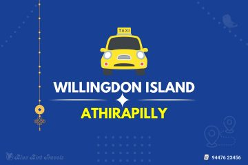 Willingdon Island to Athirapally Taxi (Featured Image)