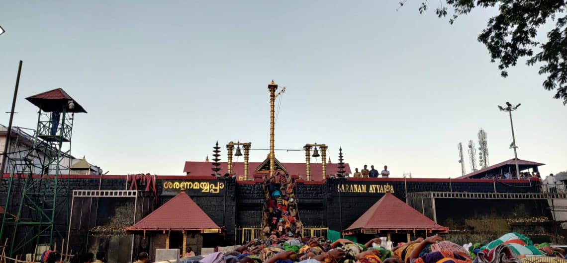 Featured image of Sabarimal Sree Dharma Sastha Temple