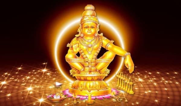 Image of Lord Ayyappan