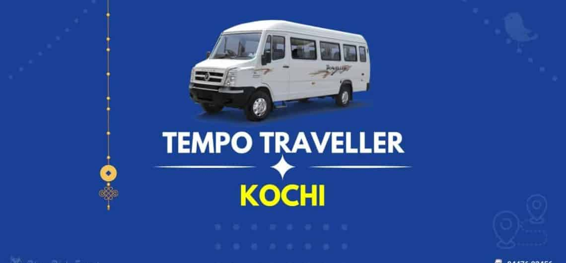 Tempo Traveller for Rent in Kochi(FB Image)